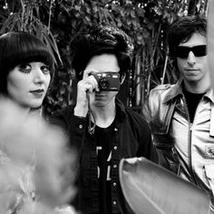 Picture of Yeah Yeah Yeahs. Used to be one of my favorite bands........... Where'd they go?
