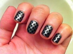 nice Amazing Inspiring Konad Nail Art 2014