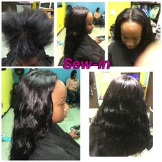 Sew-in  Call 601-946-5161 for appointments