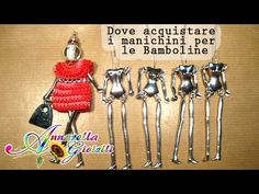 Dove comprare i manichini per le bamboline all'uncinetto - YouTube