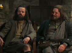 good news for fans of everybody's favorite Scottish bromance: Ron Moore confirmed on Twitter that Rupert (Grant O'Rourke), Angus (Stephen Walters) ... will be returning for Season 2!