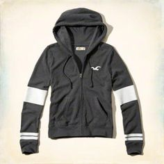 Hollister Logo Graphic Hoodie
