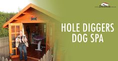 Hole Diggers Dog Spa We inquired about the SheSheds, instantly falling in love and purchasing one. It was very easy for my husband to build with the instructions supplied, even I could understand them. Read more>> https://goo.gl/ZW50JA
