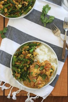 Indian Asparagus with Shredded Coconut | Girl Cooks World