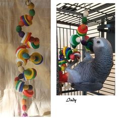 Round the Twist, differently Bird Toy Bird Toys, Sprays, Environment, Plastic, Colours, Treats, Fit, Easy, Handmade