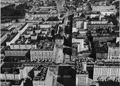 Jana Pawła róg Solidarności (Marchlewskiego, Świerczewskiego) ok. 1955