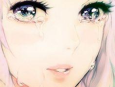 Hysteric manga tears.