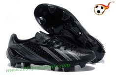 adidas adizero F50 Metallic TRX FG Leather - Black Gray