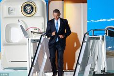 Back again: Obama visited Kenya when he was a senator, but has not returned since being el...