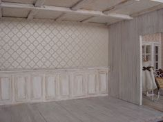 "Mini daydreams: Shabby panelling ""tutorial"""