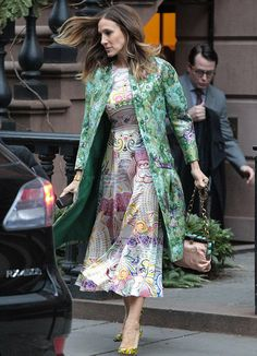 Great mix of prints. SJP