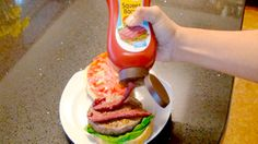 Squeeze Bacon.....gross