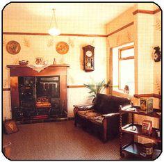 1940's home interior