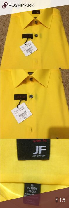 Man dress shirts NEW man   Dress shirts , long sleeve, bright nice color ,Size 15 1/2 Shirts Dress Shirts