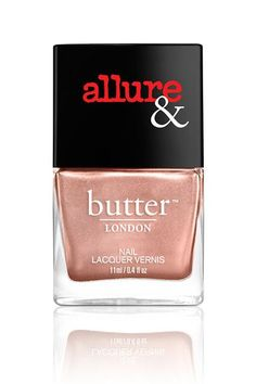 Or take this look to the next level with a touch of metallic shimmer. Butter London's new shade I'm On the List is a true '70s beige, with a high-shine finish. Butter London Nail Lacquer in I'm On the List, $15, available at Butter London. #refinery29 http://www.refinery29.com/nail-polish-trends-2016#slide-6