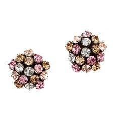 J Crew - Crystal Lights Earrings I Love Jewelry, Jewelry Box, Jewelry Accessories, Jewellery, Body Jewelry, Jewelry Ideas, Fashion Accessories, Crystal Earrings, Stud Earrings