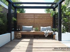 Pergola Terraza Modernas - Pergola With Roof How To Build - Pergola Garten Grau - Pergola Terrasse Jardin - Home And Garden, Modern Garden, Pergola Designs, Garden Seating, Pergola Plans, Garden Design