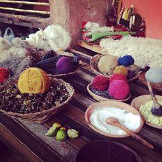 Peruvian dyestuff