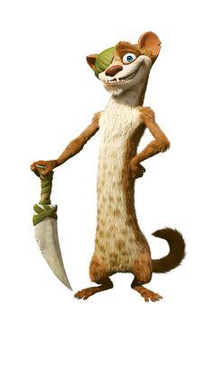Buck ! Expert en camouflage, bon pisteur et bagarreur, presque un héros sauf...qu'il est complètement givré !