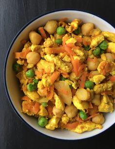 Tofu Veggie Scramble | Living Healthy in Seattle