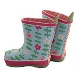 Flower Wellies - Toby Tiger