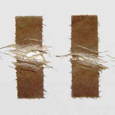 Papierkunst Gundel Hädeler - Galerie Fine Art Textiles, Textile Art, Weaving Art, Wire Weaving, Collagraph, Impressionist Art, Paper Jewelry, Paper Clay, Rice Paper