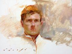 Portrait sketch by Suchitra Bhosle