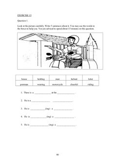 Upsr english paper 2 - section 1 - worksheets for weaker pupils English Exam, Learn English Grammar, English Vocabulary, Teaching English, Picture Story Writing, Writing Pictures, Picture Writing Prompts, Comprehension Worksheets, Comprehension Strategies