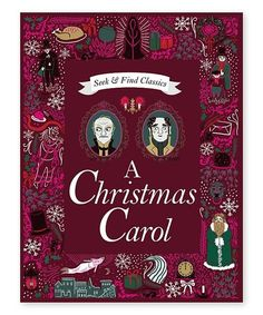 The Hardcover of the A Christmas Carol (Seek and Find Classics Series) by Sarah Powell, Louise Pigott, Charles Dickens Christmas Tale, Christmas Carol, Christmas Birthday, Modern Christmas Decor, Christmas Decorations, Christmas Ornaments, Christmas Tree Ugly Sweater, Bee Book, Beautiful Cover