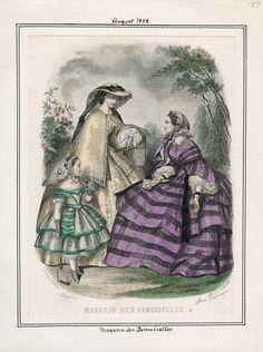 August, 1858 - Magasin des Demoiselles