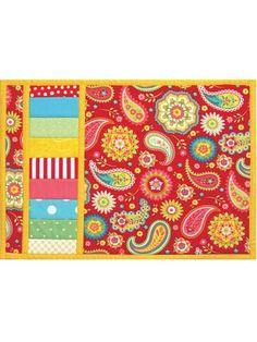 Easy Flip & Sew Place Mat Pattern