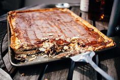 S'mores Pop-Tart Slab Pie · The Crepes of Wrath Pop Tarts, Butter Crust, Smores Cake, Good Pie, Slab Pie, Chocolate Filling, Pie Recipes, Copycat Recipes, Sweet Recipes