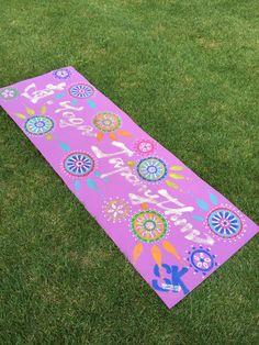 直yoga japonythm art mat special order hand drawing $5000 #MATELICA#yogamat #直yogajaponythm#腹活#ハラカツ