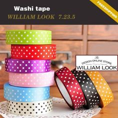 Min.order is $25 (mix order) colorful printing washi masking tape printing washi tape hot market lovely promotion gift MMA07235 on AliExpress.com. $2.22