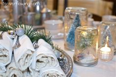 Vintage Chic Tablescape {Tons of Pics}