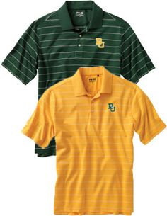 Baylor University Grain Polo/// yep folks better stock up. We are moving to Waco because I got the job at Baylor University!