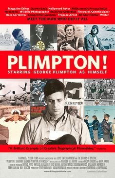 Plimpton! Starring George Plimpton As Himself (Tom Bean & Luke Poling, 2013)