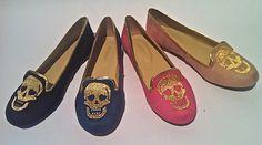 Imporium Summer 2013 #shoes #skull #gold #colors