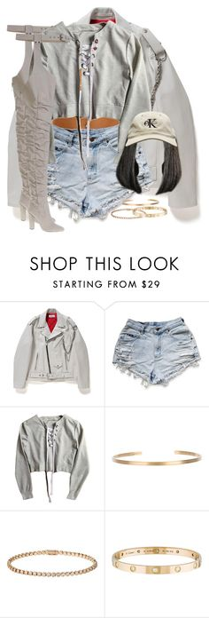 """Без названия #359"" by jesus-rosebitch ❤ liked on Polyvore featuring Maria Black and Cartier"