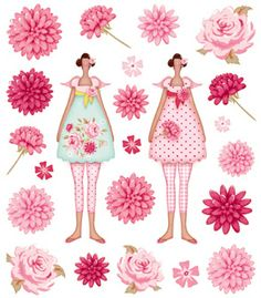 http://www.casacenina.com/tone-finnanger/tilda-stickers-flowergarden.html