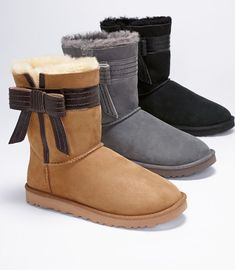 Love These Bow UGG Boots!!
