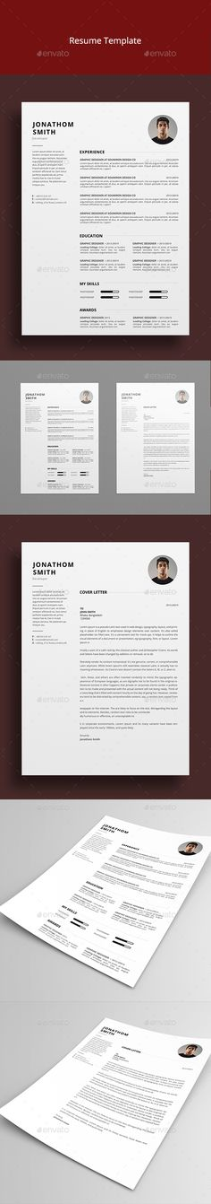 Resume Template PSD                                                                                                                                                                                 More