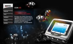 Mares Icon HD: the new Mares dive computer with a full color display, Icon hd simulator - THE BEST!!!