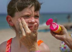 Sunscreens containing zinc oxide, titanium dioxide or avobenzone protect against skin cancer. - Joe Raedle/Getty Images