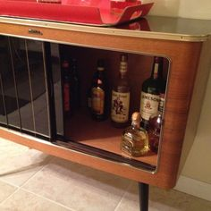 Sofa Table Liquor Cabinet