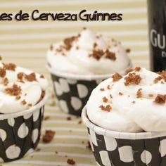 Guinnes Beer CupCake