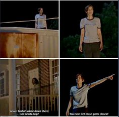 Maggie Rhee S7E5 Leader in the making?
