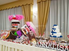 Kinderata, caramellata, allestimento sala Napoli 8 Nutella, Children, Party, Meet, Toddlers, Boys, Kids, Parties, Receptions