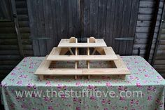 The Ultimate Portable Riser Craft and trade Fair Display Shelving Stand Table Top Display, Display Shelves, Display Stands, Shelving, Display Ideas, Craft Fair Displays, Displays For Craft Shows, Mini Blinds, Market Stalls