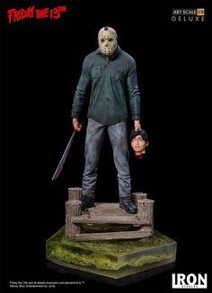 Vendredi 13-38cm Mezco Figurine Mega Scale Jason Friday the 13th